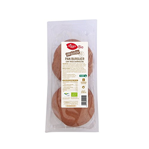 El Granero Integral - Burger bread with buckwheat gluten free bio (2 pcs.) - 200 g