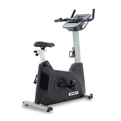 'Spirit Fitness xbu 55, 10programmes, inertie 13,5kg, 7,5LCD Vélo d'appartement ergomètre Indoor Bike, noir, One Size