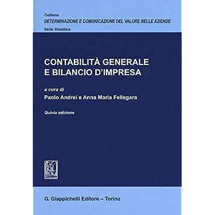 Contabilità Generale E Bilancio D'impresa