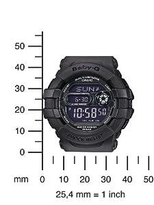 Casio Baby-G - Reloj de cuarzo para mujeres, correa de silicona