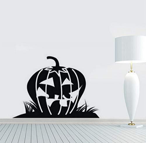 Sgbfz Tapete Halloween Kürbis Hintergrund Wandaufkleber Fenster Home Decoration Aufkleber Dekor