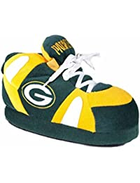 636d9f1a948a Happy Feet GRB01-5 - Green Bay Packers - 2XL Comfy Feet NFL Slippers