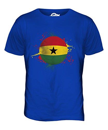 CandyMix Ghana Fußball Herren T Shirt Königsblau