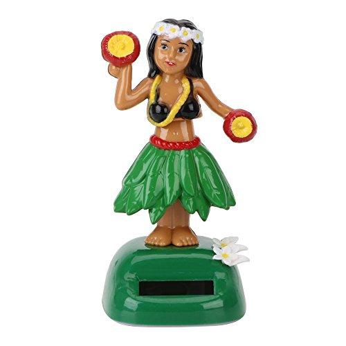 Preisvergleich Produktbild Auto Innen Armaturenbrett Dancing Hawaii Girl Solar Powered Car Ornament