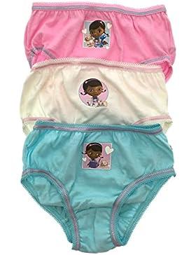 Disney - Braguitas - para niña multicolor Doc McStuffin