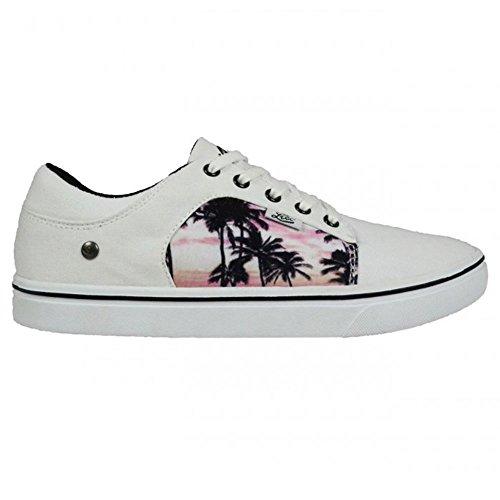 Lico Unisex-Erwachsene California Sneaker Weiß
