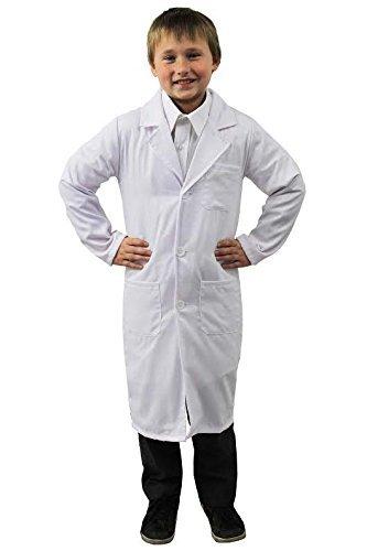Kostüm Zombie Mädchen Doktor Für (KINDER = JUNGEN ODER MÄDCHEN = ARZTKITTEL ODER DER VERRÜCKTE PROFESSOR UND DER KLEINE DOKTOR = KOSTÜM = TOLL FÜR KINDER VERKLEIDUNGEN = VON ILOVEFANCYDRESS®=DER KITTEL IST ERHALTBAR IN 4)