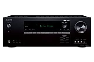 Onkyo TX-SR444-B - Receptor AV de red (7.1 canales, Bluetooth, Dolby Atmos) color negro (B00Z6WBO6Q) | Amazon Products
