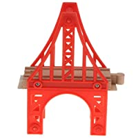 CUTICATE Wooden Train Track Bridge Connectors & Adapters -Suspension Bridge Kit