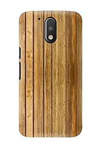 Kawach Phone Case/Back Cover for Moto G4 Plus / Moto G Plus (4th Generation) - Fake Wood Vertical Printed Case
