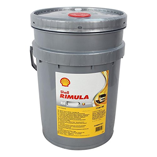 Shell Rimula R4 L 15W-40 20 Liter NFZ Dieselmotorenöl, Motoröl für Nutzfahrzeuge
