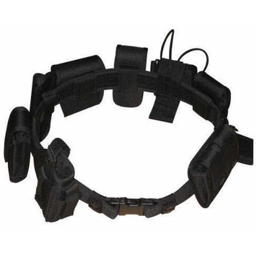 Eidoct Tactical Gürtel Outdoor Multifunktional Tactical Belt Security Police Guard Utility Kit - Pager-holster