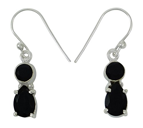 ng Silber Edelstein Baumeln Tropfen Indischen Modeschmuck Ohrring (Designer Modeschmuck Ohrringe)