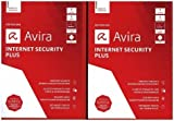 Avira Internet Security Plus 2018-1+1 Special Vollversion, 2 Lizenzen Windows Antivirus, Sicherhei