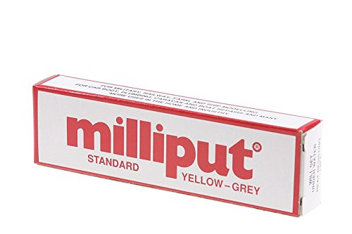 Price comparison product image Milliput Standard Yellow-Grey 113.4g Pack/Packs (5)