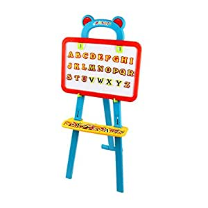 Shopo Kids Creativity Magnetic Board 80 Letters Nos Symbols Center Art Easel Writing