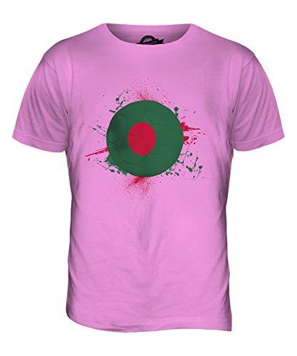 CandyMix Bangladesch Fußball Herren T Shirt Rosa