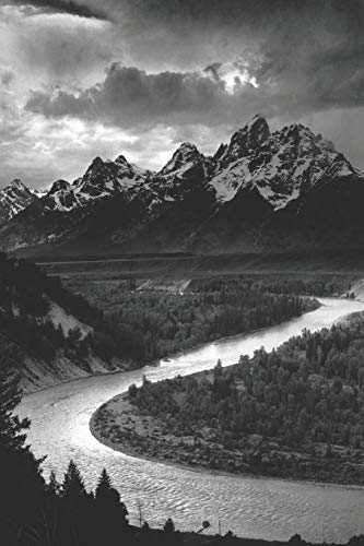 Ansel Adams Tetons and the Snake River Journal Notebook: Blank Lined Ruled For Writing 6x9 110 Pages -