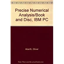 Precise Numerical Analysis/Book and Disc, IBM PC