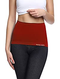 Merry Style Elástico Tubo Sin Costura Bandeau Faja Abdominal Mujer 06 166
