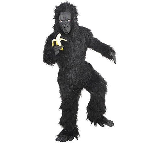 Gorilla Kostüm Kinder Amscan (Kinder Maske Gorilla)