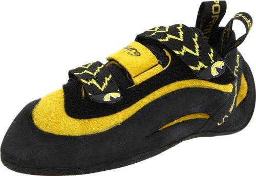 La Sportiva Herren Wanderschuhe, schwarz/gelb, mehrfarbig, Herren, Giallo - YELL/BLK, (38M) UK (Wanderschuhe Vs Schuhe)
