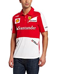 Scuderia Ferrari Team Sponsoren PoloShirt von Puma, Formel1, rot, 5 Größen, Vettel, Räikkönen
