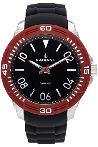 Radiant aren orologio Uomo Analogico al Al quarzo con cinturino in Gomma RA503604