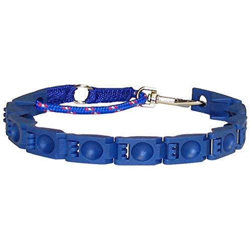 Moliies Praktisches Design Perfect Haustiere Hunde Befehl Kragen Einstellbare ABS Anti-Bark Kleiner Hund Befehl Training Kragen Blau