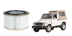 Bosch Car Stock Replacement Air Filter Paper 125-Maruti Gypsy 1.3L P 4WD