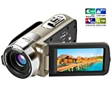 Kamera Camcorder, Ansteker HD 1080P Videokamera 24MP 16X Digital-Zoom mit 2,7