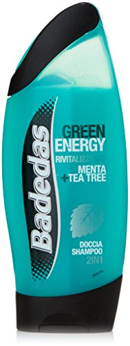 Badedas - Green Energy, Doccia Shampoo 2 in 1, Rivitalizzante Menta e Tea Tree - 250 ml