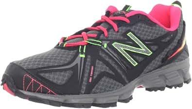 New Balance Womens Trail Running Shoes WT610BP2 Black/Pink 3 UK, 35 EU