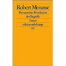 Permanente Revolution der Begriffe: Vorträge zur Kritik der Abklärung (edition suhrkamp)