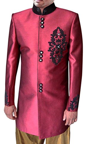 INMONARCH -  Smoking  - Uomo Indian-red