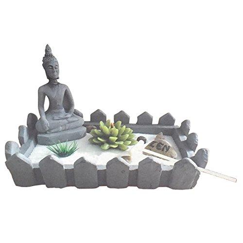 La Bolata-Jardín Buda en Zen y portavelas