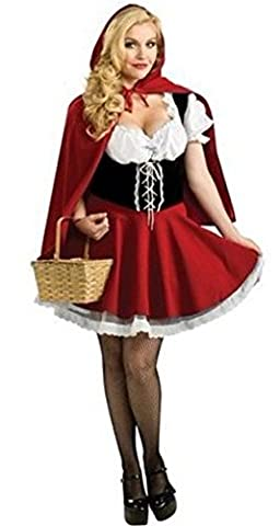 Halloween Costume De Costume Rouge - Lily Belle (Lili Bell) Ensemble sexy robe