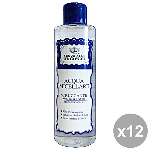 NEUTRO ROBERTS Set 12 Acqua Micellare Acqua Di Rose 200 Ml. Cura Del Viso