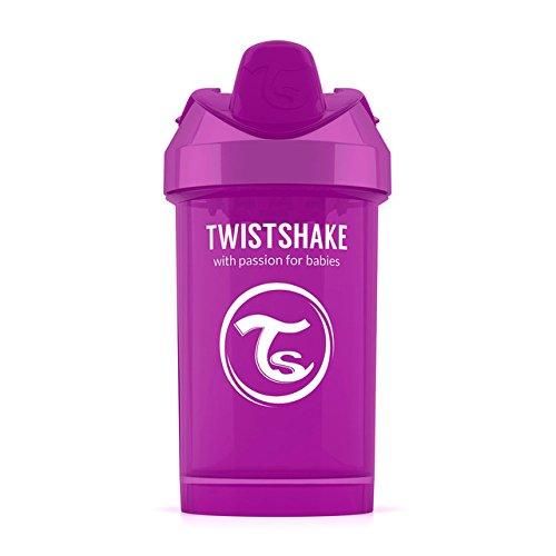 Twistshake 7350083120625 auslaufsicher Trinkflasche, 300 ml, violett -