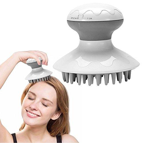 Elektrischer Kopf Massager, Anti-Statische Kopfhaut Massage Entspannung Stressabbau Haar Scrubber Pinsel Haushalt Mini-Massagegerät