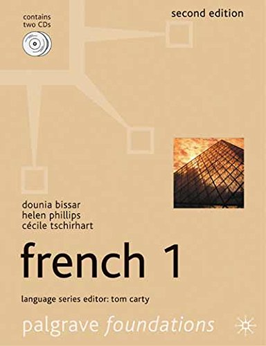 Foundations French 1 (Palgrave Foundation Series Languages)