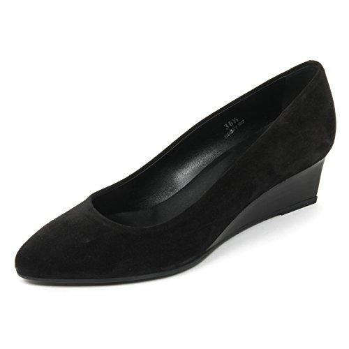 980c6b150aac B9608 Femme Décolleté Tods Coin T50 Chaussure Noir Chaussure Femme Noir