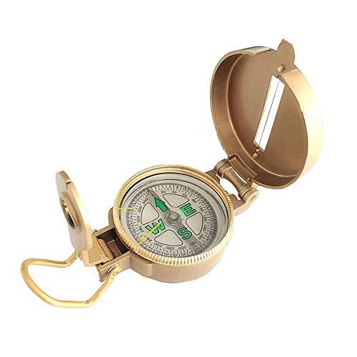 Multifunktionale Outdoor-Armee Metall Kompass ideal für Wandern, Camping, Auto und Motorrad, Boot Fahren, Backpacking -