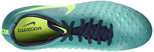 Nike Magista Onda Ii Fg, Chaussures de Football Homme Turquoise (Rio Teal Türkis/obsidian/clear Jade/volt)