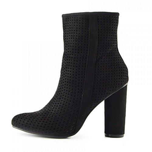 Calzature & Accessori neri con cerniera per donna Kick Footwear Gran Rango De Envío Libre De Italia Auténtica Venta En Línea O0eSj