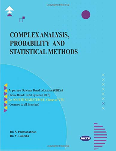 COMPLEX ANALYSIS, PROBABILITY AND STATISTICAL METHODS