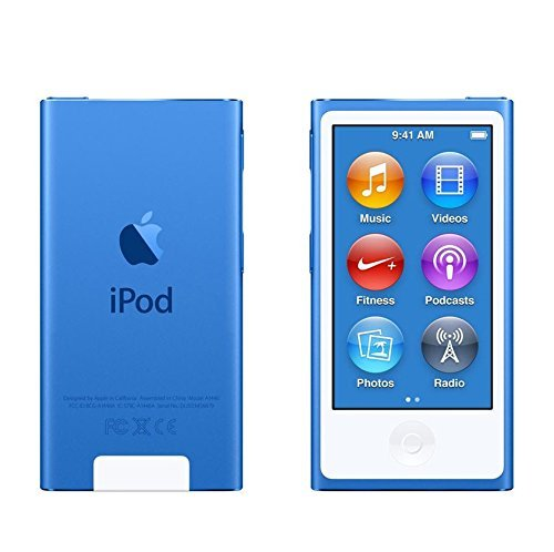 Apple iPod nano 16GB Blue 7th Generation Latest Model B  available at amazon for Rs.23599
