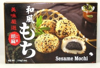 Mochi Dulce Japonés Sabor Sésamo - Royal Family 6 Piezas (210g.)