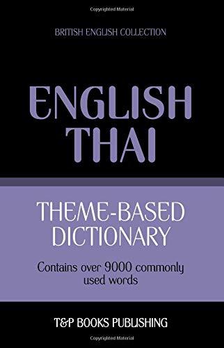 Theme-based dictionary British English-Thai - 9000 words