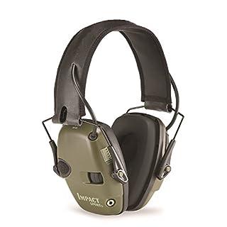 Honeywell Howard Leight 1013530 Impact Sport Foldable Ear Defender, SNR 25(Green)